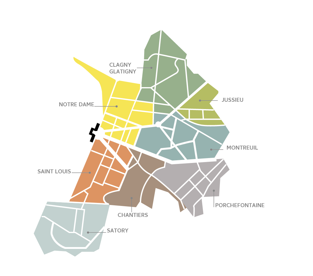 Mapa de Versalhes