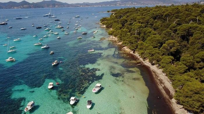 Île de Sainte Marguerite em Cannes