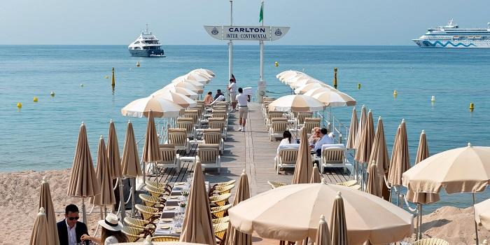 Carlton Beach em Cannes