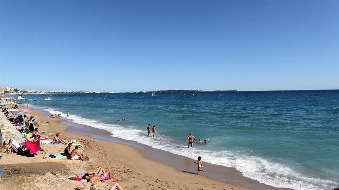 Plage du Midi em Cannes