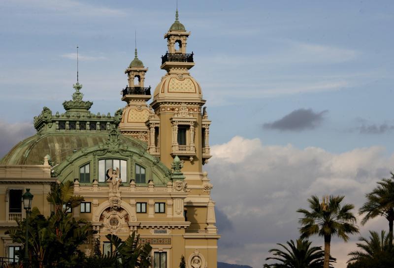 Arquitetura da Ópera de Monte Carlo em Mônaco