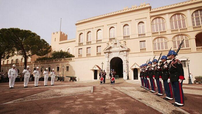 Guardas do Palácio do Príncipe de Mônaco