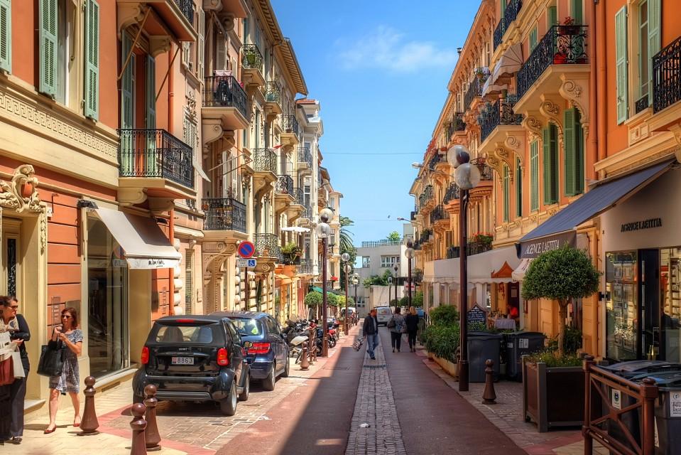 Ruas de Monaco-Ville