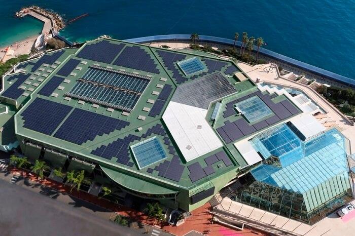 Vista do Grimaldi Fórum em Mônaco