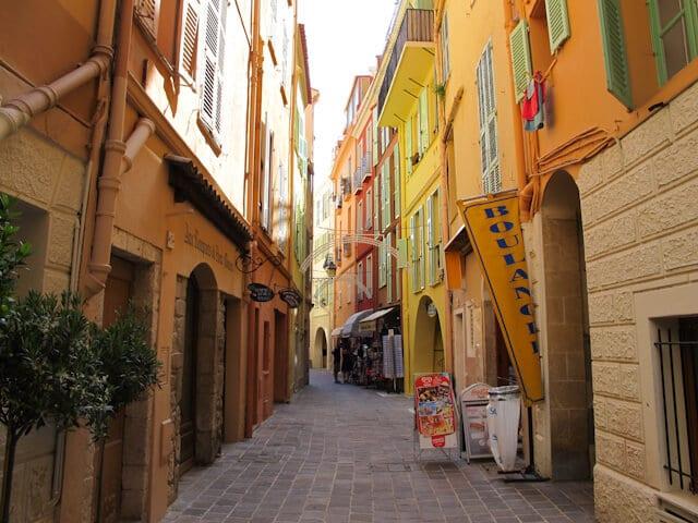 Ruas em Mônaco