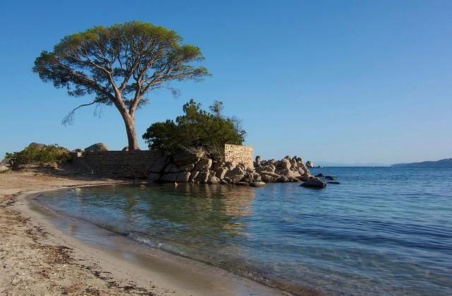 Vista da Praia de Tamaricciu