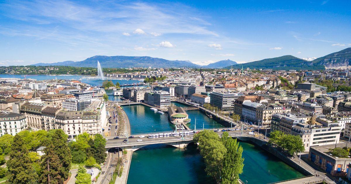 Vista de Genebra