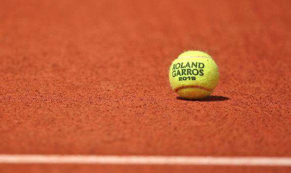 Bola de tênis do Roland Garros