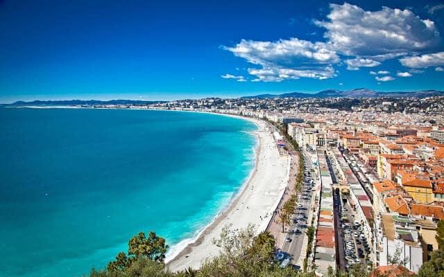 Vista de Nice