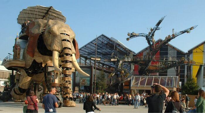 Ile des Machines em Nantes