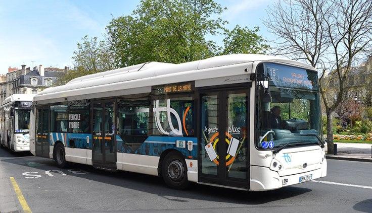 Ônibus em Biarritz
