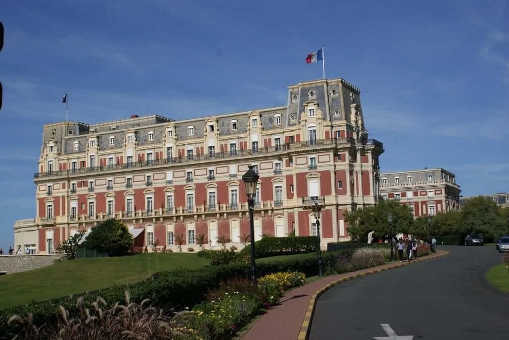 Hôtel du Palais em Biarritz