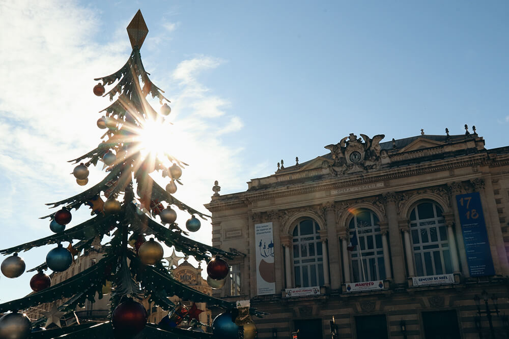 Inverno em Montpellier