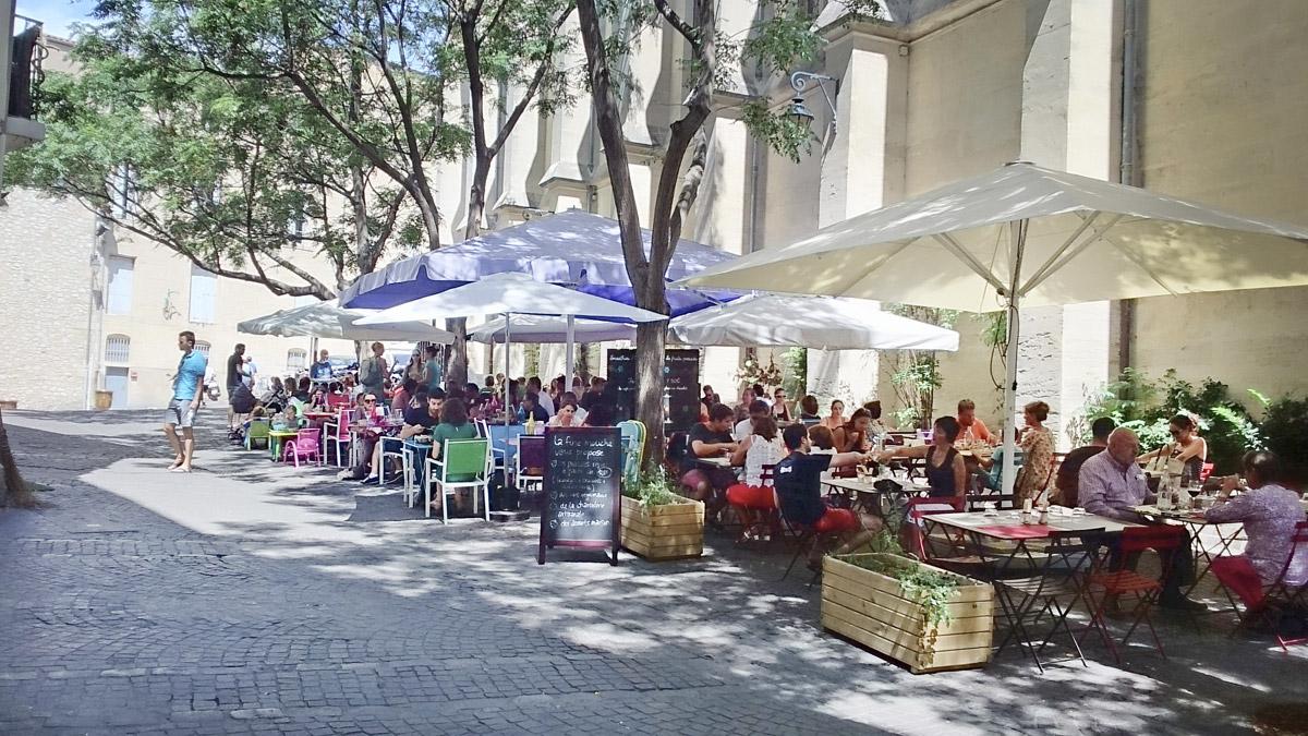 Place St. Anne em Montpellier