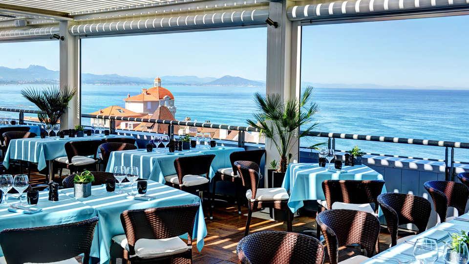 Restaurante romântico em Biarritz