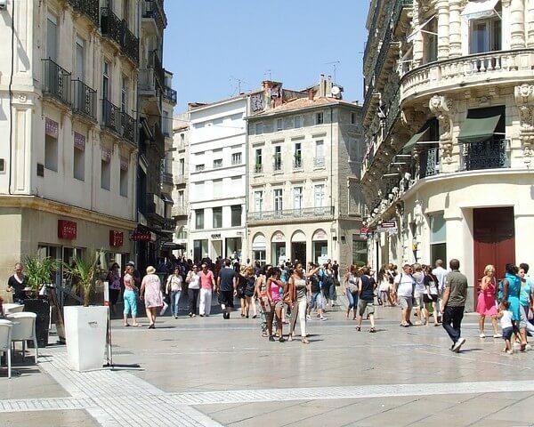 Rue de la Loge em Montpellier