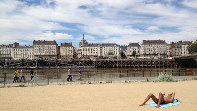 Verão em Nantes