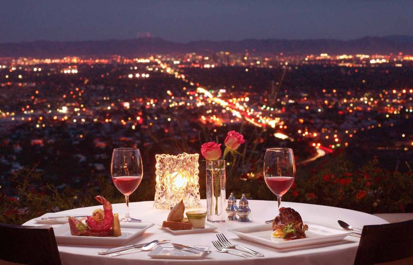 Vista romântica de Nantes
