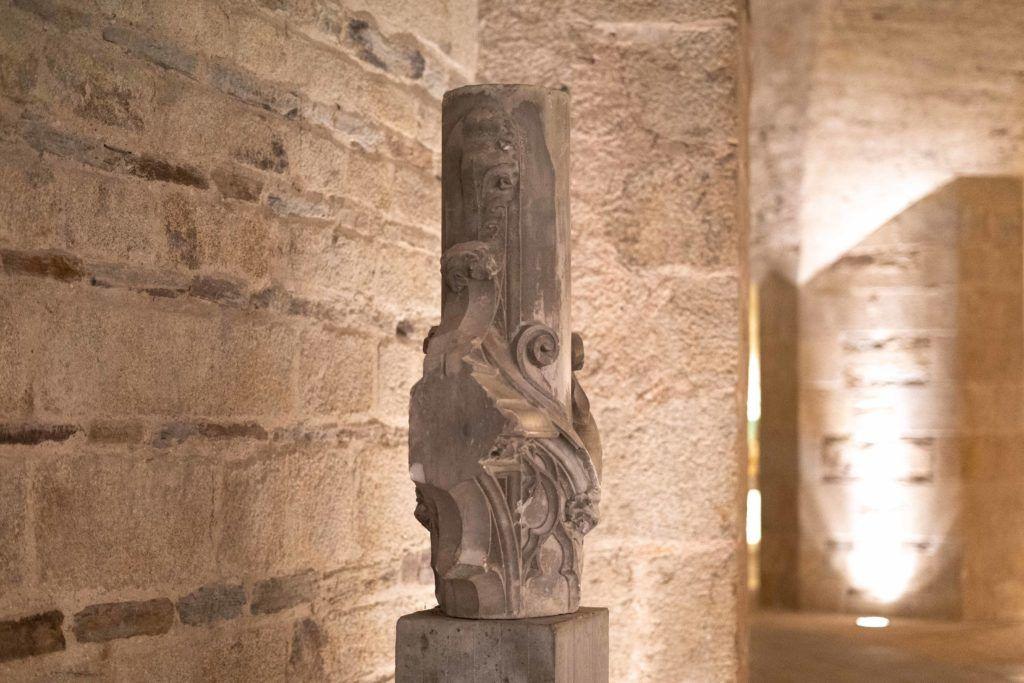 Cripta da Catedral de Nantes