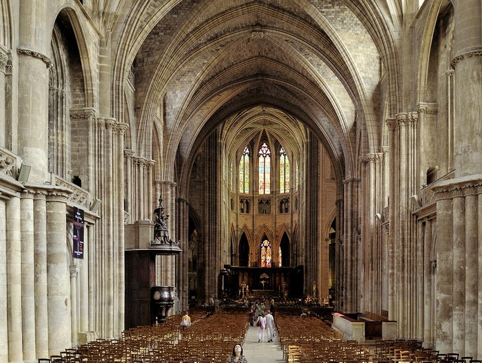 Interior da Catedral de Bordéus