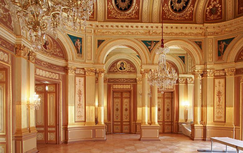 Interior do Grand Theatre em Bordéus