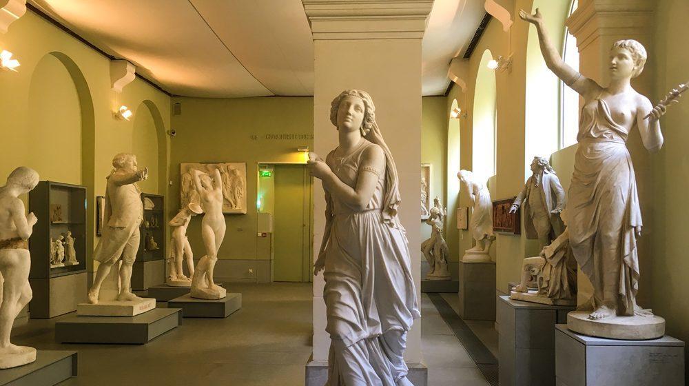 Interior do Museu Granet em Aix