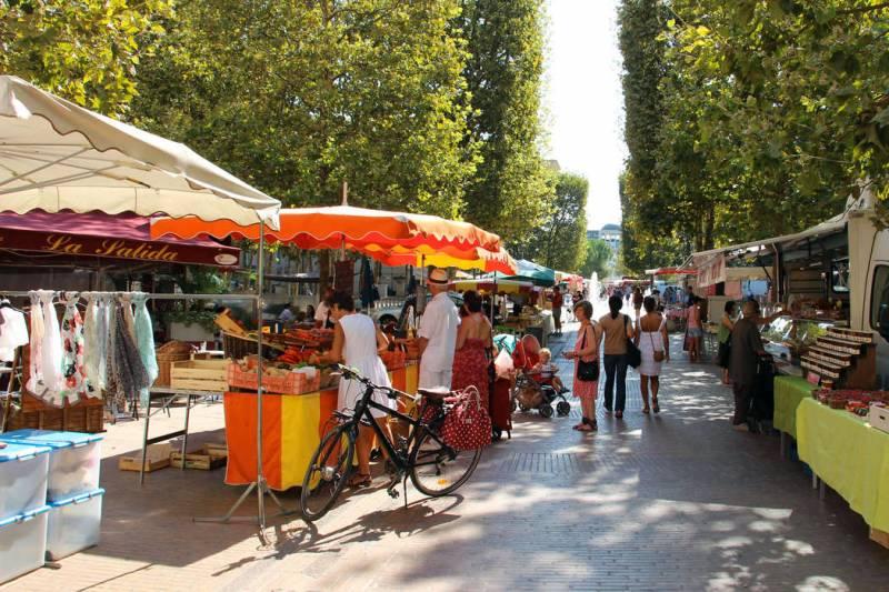 Mercado em Montpellier