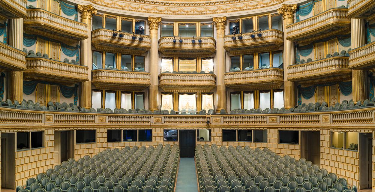 Sala do Grand Théatre em Bordéus