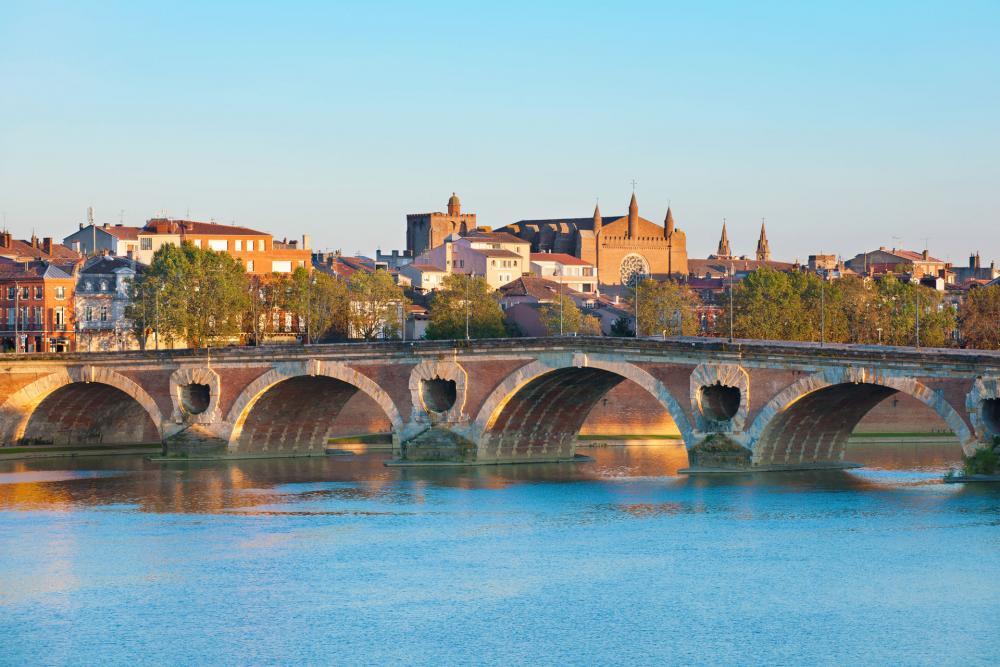 Pont Neuf em Toulouse