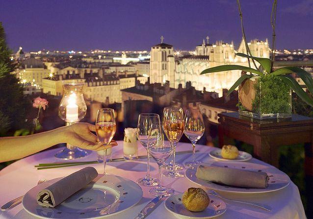 Jantar romântico em Toulouse