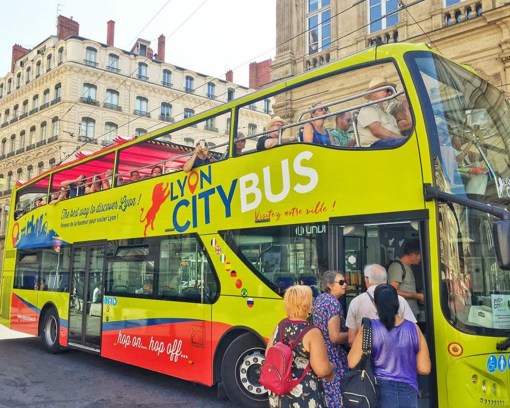 Hop-on Hop-Off em Lyon