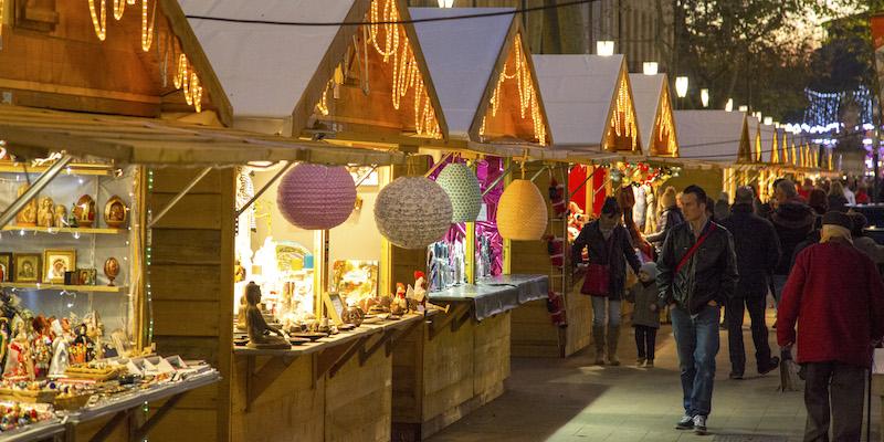 Mercado de Natal em Aix