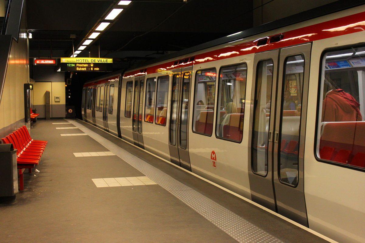 Metrô em Lyon