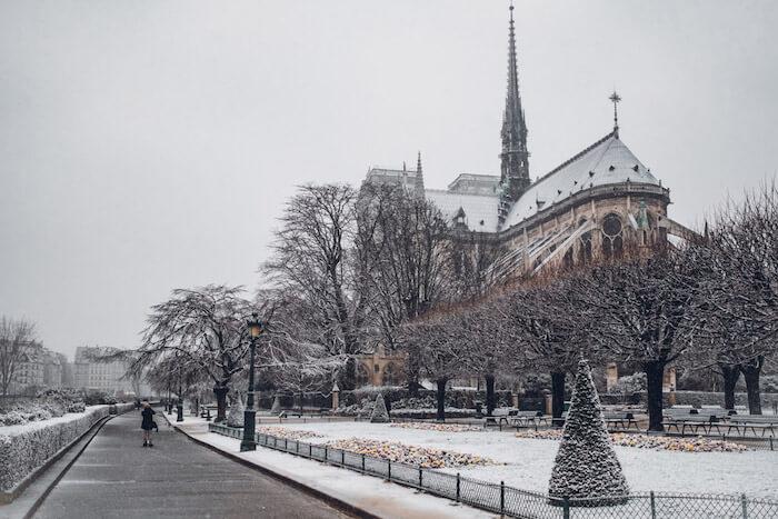 Inverno em Paris