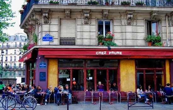 Bar Chez Prune em Paris