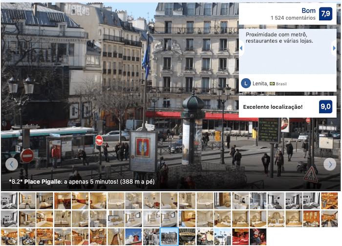 Hotel Pavillon de Montmartre em Paris