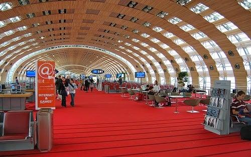 Aeroporto Charles De Gaulle em Paris