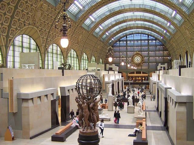 Acervo do Museu de Orsays em Paris
