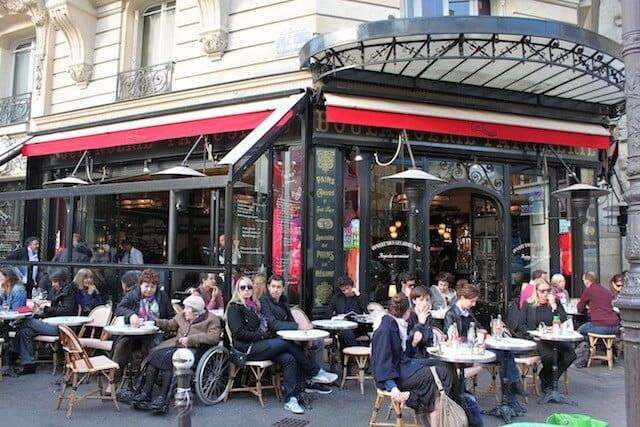 Café Charlot no bairro Le Marais em Paris