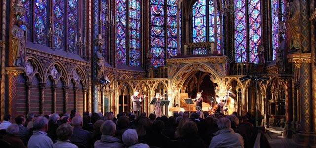 Concertos natalinos em Paris