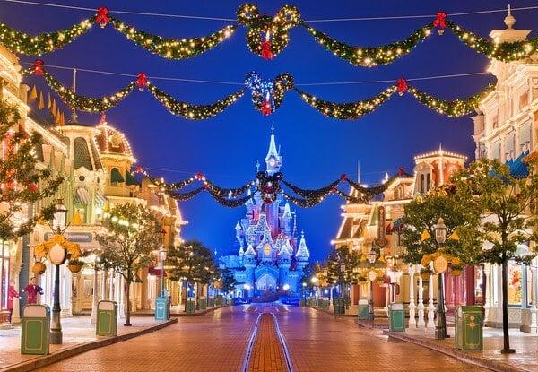 Disneyland Paris no Natal