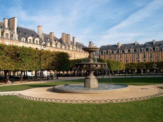 Place des Voges no Le Marais
