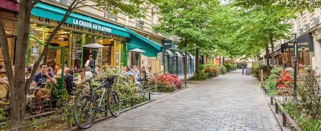 Ruas do bairro Le Marais