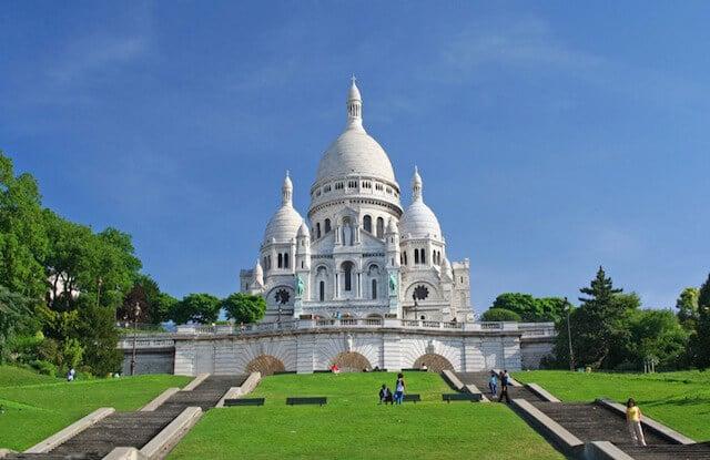 Basílica de Sacre Coeur de Paris