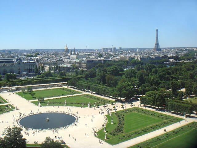 Jardim das Tulherias em Paris