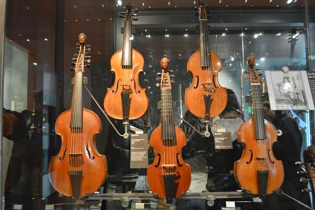 Instrumentos Museu Cidade da Música em Paris