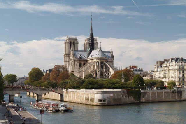Île de la Cité em Paris