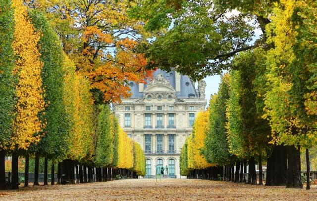 Jardim das Tulherias e Museu L'Orangerie