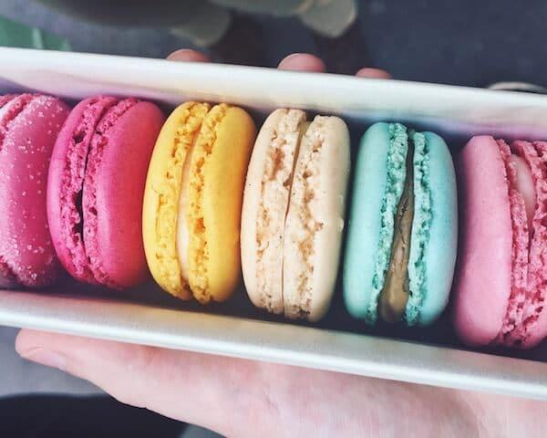 Doces típicos de Paris - macarrons