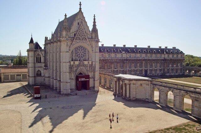 Capela Sainte Chapelle em Paris